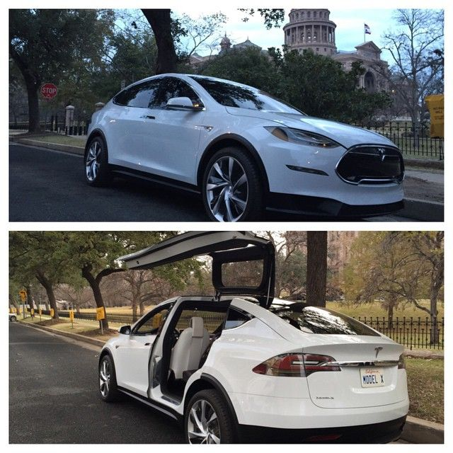 Elon Musk and Model X are at the Texas State Capitol in Austin today. Thanks to 100+ Tesla owners also in attendance. #cars #tesla #exoticcars #L4L #car