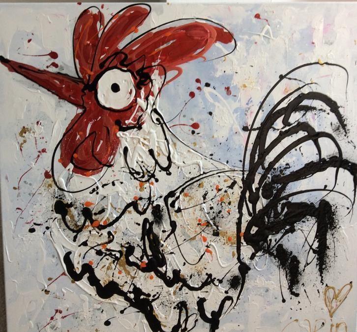 Meer dan 1000 idee n over groot schilderij op pinterest groot doek abstract en abstracte - Bruin taupe schilderij ...