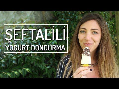 Şeftalili Yoğurt Dondurma (Çocukluğa Götürür)   Yemek.com - YouTube