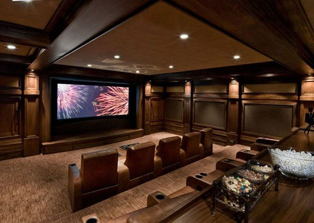 17 best images about home theater ideas on pinterest for Luxury home theater rooms