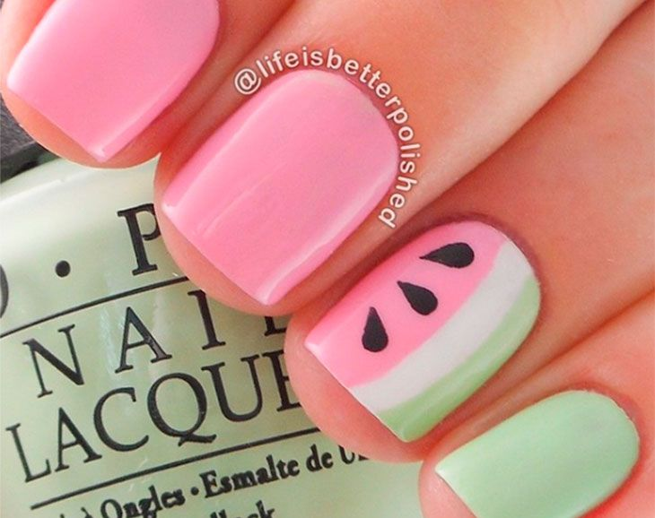 Artistic nails: the 60 cutest ideas to get inspired