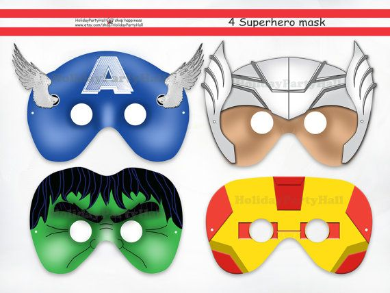 123 best holidaypartystar images on pinterest printable for Avengers mask template