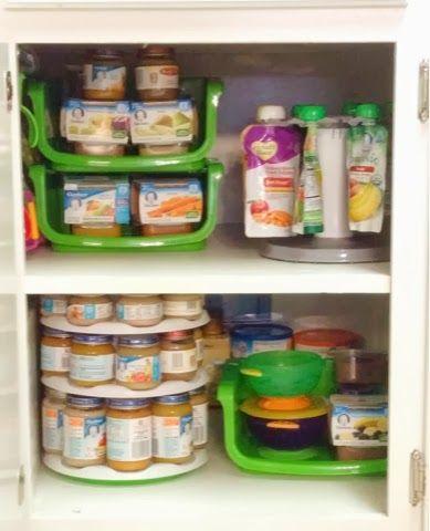 baby food organization - Organize Kitchen Ideas