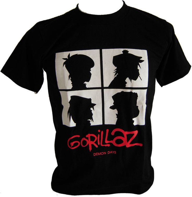 New Gorillaz Demon Days T-shirt size M (18 x 27 inch). (gorillaz7) in Clothing, Shoes & Accessories, Men's Clothing, T-Shirts | eBay