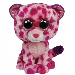 Ty Beanie Boos Large Glamour the Leopard - perfect to add to a leopard theme baby gift!!!