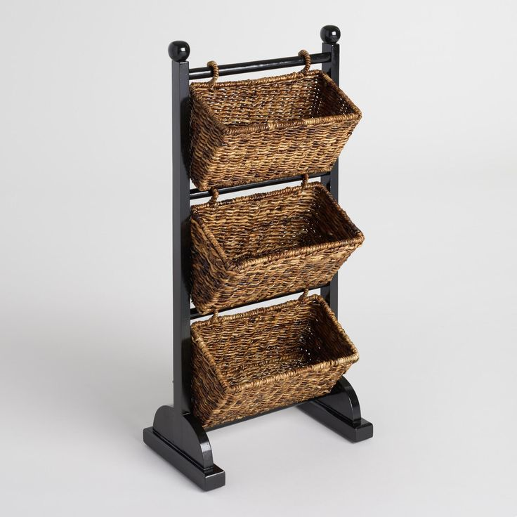 Madras Storage Baskets: Madras Is A Durable, Naturally Harvested Abaca Fiber From
