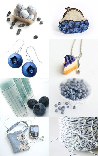 Blueberry Summer  --Pinned with TreasuryPin.com