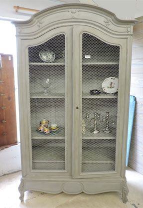 Armoire louisxv 287 417 meubles patin s for Meubles patines