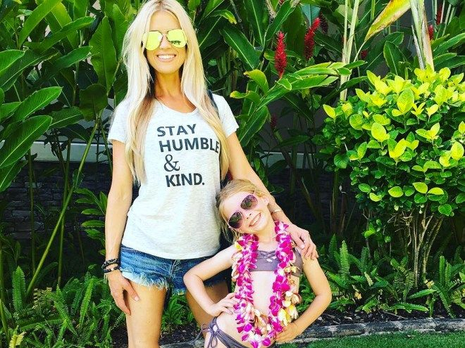 """Maui days are the best days,"" Christina El Moussa captioned one of her holiday photos"
