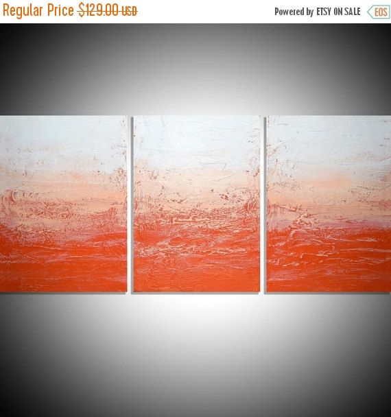 EXTRA LARGE WALL Art Triptych 3 Panel Wall By Wrightsonarts