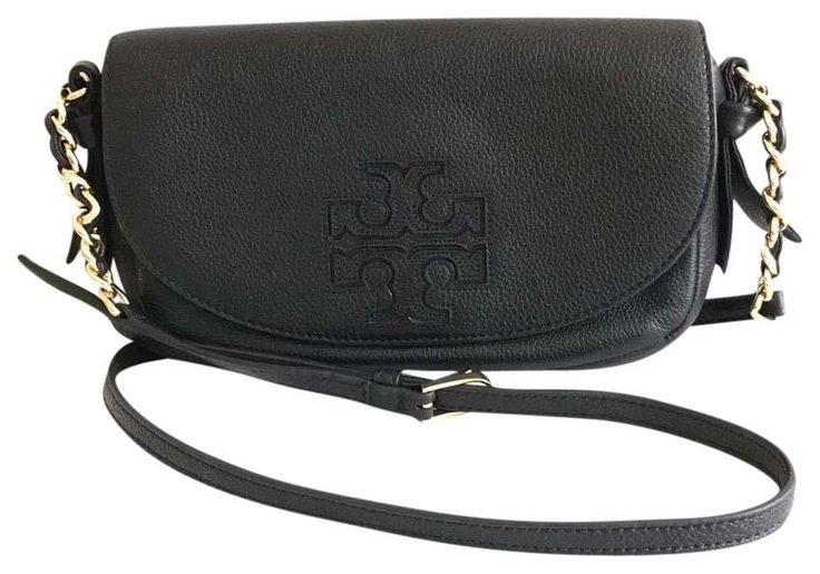 Tory Burch Harper Leather Black Cross Body Bag. Get the trendiest Cross Body Bag of the season! The Tory Burch Harper Leather Black Cross Body Bag is a top 10 member favorite on Tradesy. Save on yours before they are sold out!
