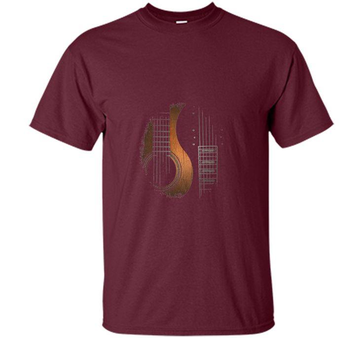 Martin Yin-Yang Faded Rock Guitar T-Shirt For Men / Women cool shirt