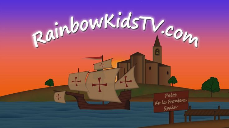 To New World - Educational videos for children - Discovery of America.