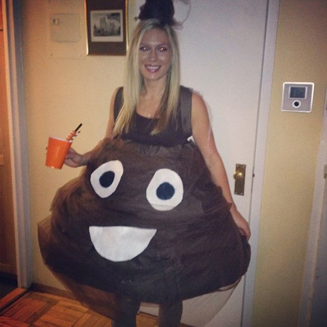The 15 Best Emoji Halloween Costumes This Year via Brit + Co.