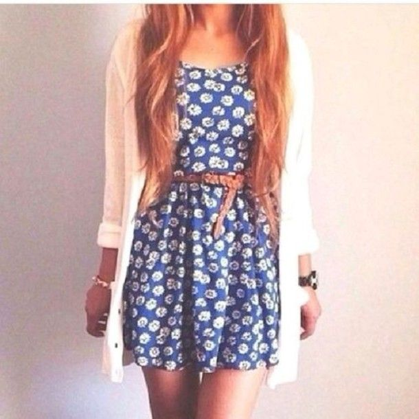 white and blue ariana grande cute spring summer outfit