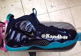 Release Date: Nike Air Foamposite Pro Dark Obsidian/Light Aqua ...