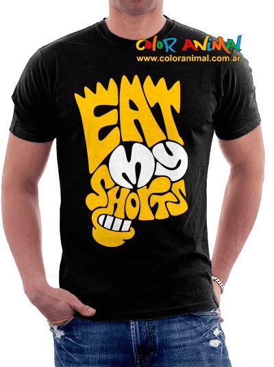 "Bart ""Eat my Shorts"" - Comprar en Color Animal"