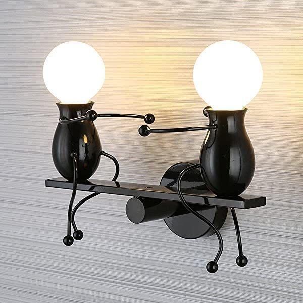 Moderne Wandleuchte Kreative Einfachheit Design Lichter Innenbeleuchtung Kinder In 2020 Wandbeleuchtung Wandleuchte Design Leuchten