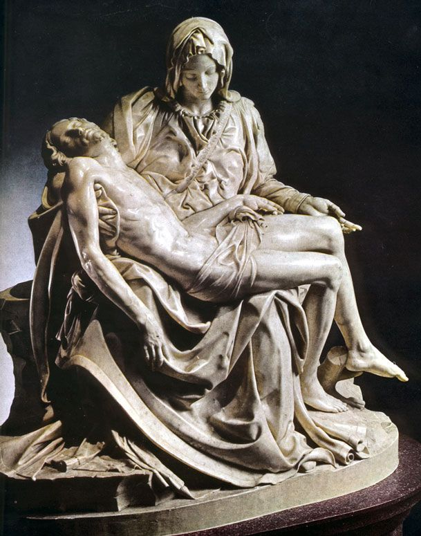 2. (Michelangelo's Pieta) I love Michelangelo. I have been to Florence twice and seeing the David in person is a major experience. The Pieta is also amazing in person.