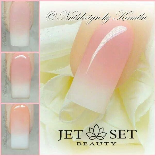 90 Best Images About Baby Boomer Nail Art Tutorial By Nded