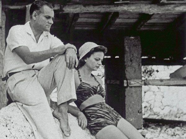 Alberto Moravia & Elsa Morante.