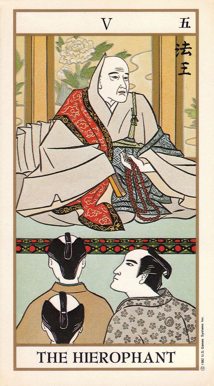 hierophant tarot card relationship