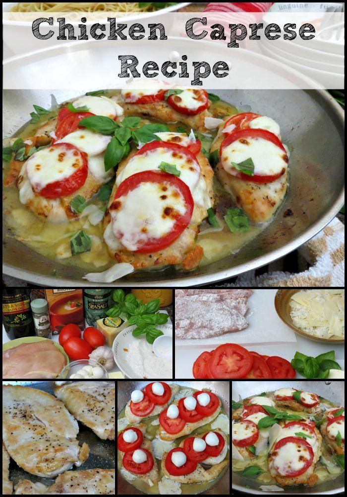 Chicken Caprese Recipe | An Easy One-Pan Dinner!