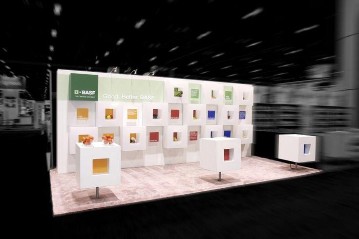 Basf 10x20 Trade Show Booth Trade Show Booth Ideas