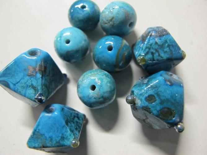 turquoise soup | the random bead | cathy harvey