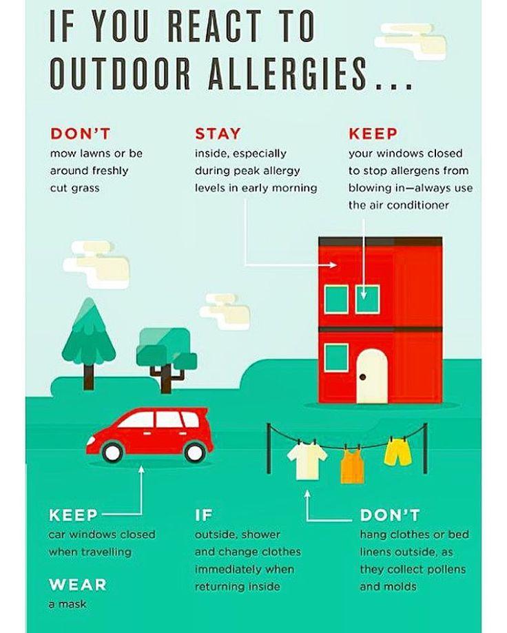 Вот какую инфографику нашла для вас😃 Профилактика пыльцевой аллергии: 📍оставайтесь в помещении, особенно в пик пыления (ранним утром) 📍закрывайте окна, используйте барьеры для пыльцы 📍во время путешествий держите окна машины закрытыми 📍носите маску (от себя добавлю, что сейчас есть фильтры в нос) 📍не сушите одежду и белье на улице(где много пыльцы) 📍после возвращения с улицы, меняйте одежду и умывайтесь немедленно ☝🏻️Эти меры важны и для деток с проявлениями кожной аллергии…