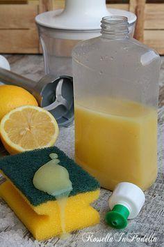 Detersivo per piatti e lavastoviglie fatto in casa