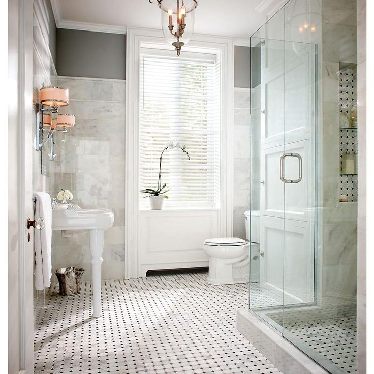 Photo Image MS International Greecian White Octagon in Honed Marble Mesh Mounted Mosaic Tile at The Home Depot Mobile