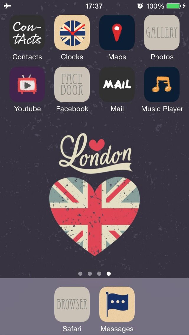 Love London Express your love for London style with London special icons and wallpapers! ★ In this screen ★ Deco Pack:Let Bygones Be Bygones +Hanabi+ Calligraphy+Sentimental London Wallpaper:London symbols heart