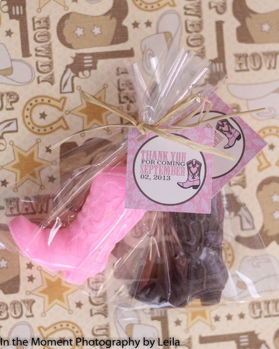 bridal shower favors wedding favors our wedding party favors wedding ideas western bridal showers soap favors baby shower cowgirl boot