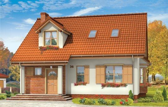 Projekt Klif jest domkiem jednorodzinnym dla rodziny 4-6 osobowej. Dom powstał jako wersja wariantowa projektu Bryza. Projekt Klif został pomniejszony o garaż, przez co zmniejszyła się jego szerokość - dzięki temu mieści się na działce o szerokości 18,5 m. Prosta bryła i funkcjonalne, przemyślane wnętrze do największe zalety Klifa. Na niedużej powierzchni udało się zmieścić salon i cztery dodatkowe pokoje, oraz dwie łazienki.