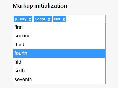 Simple Tag Input With Autocomplete Support - jQuery Tagator