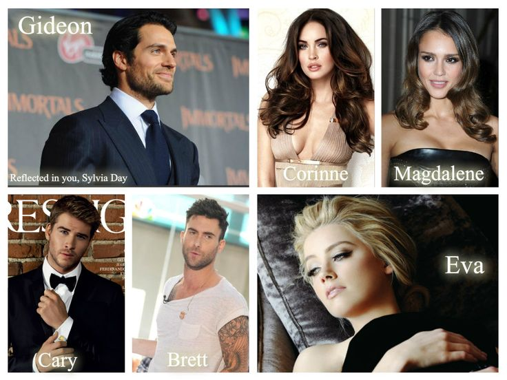 My #Crossfire dream cast♥: Henry Cavill, Amber Heard, Liam Hemsworth, Megan Fox, Adam Levine, Jessica Alba