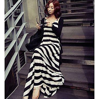 Bohemia largo vestido de Sun de la Mujer – USD $ 16.09