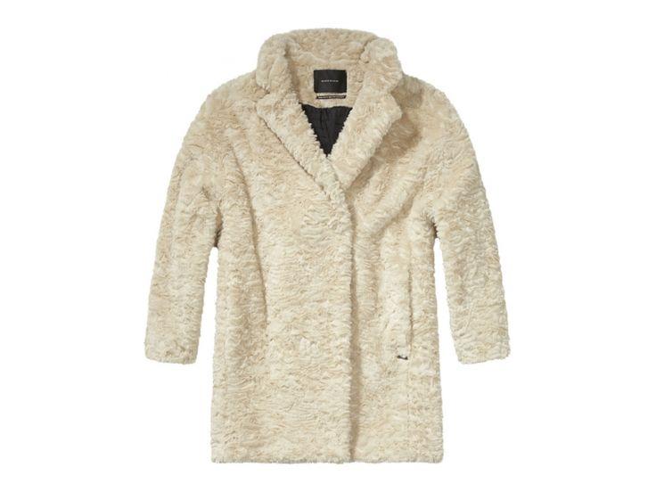 Maison Scotch Faut Fur Coat