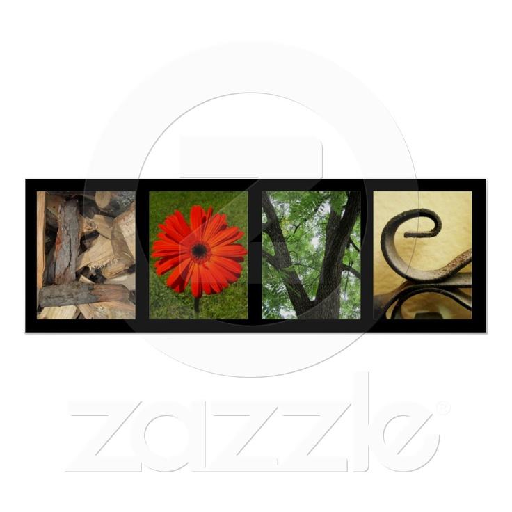De creatieve Druk van de Kunst van de Fotografie v Plaat van Zazzle.nl
