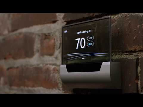 Microsoft unveils a beautiful Cortana-powered thermostat - Microsoft is partnering with Johnson Controls to build a thermostat. The software giant unveiled the new GLAS thermostat in a YouTube video today. Its built by Johnson Controls makers of the first electric room thermostat.