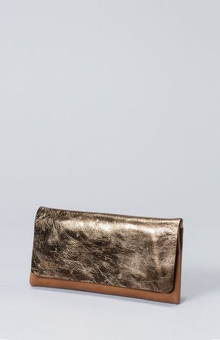 Metallisk wallet Copper/tan G0693S15