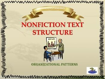 Nonfiction Text Structure PowerPoint by HappyEdugator | Teachers Pay Teachers