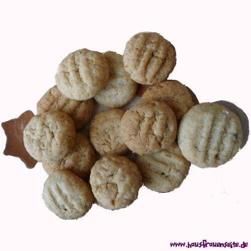 schnelle Walnussplätzchen - Plätzchenrezept unser Rezept für schnelle Walnussplätzchen vegetarisch laktosefrei