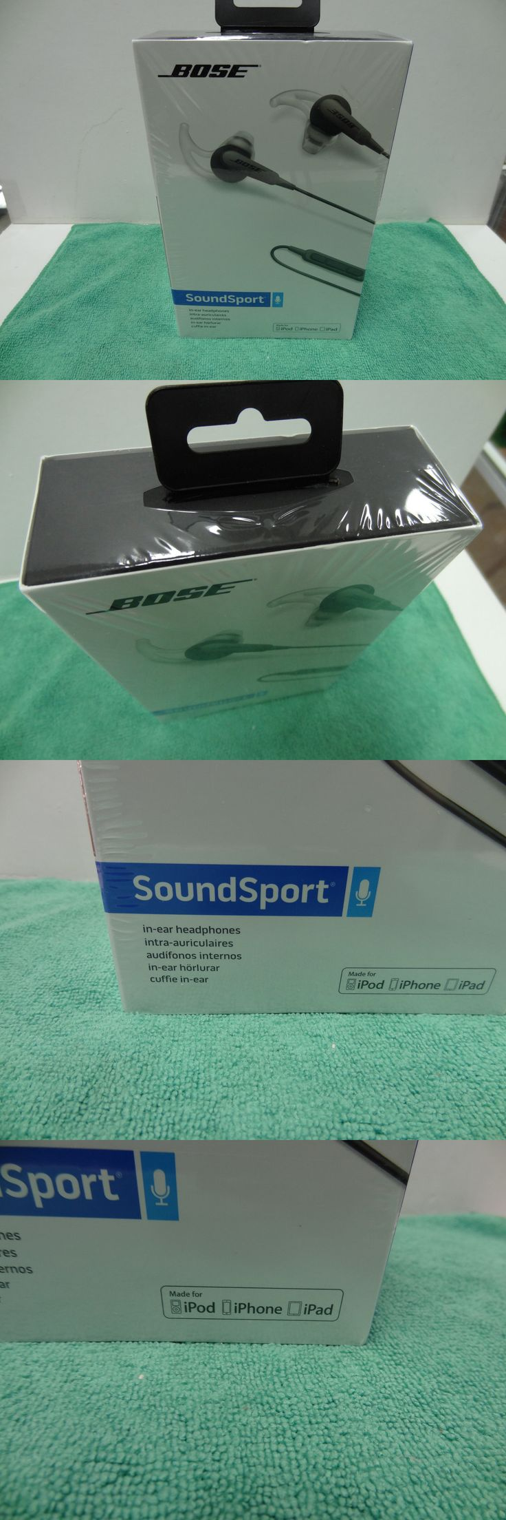 Other iPod and Audio Player Accs: Bose Sound Sport In-Ear Headphones Charcoal Brand New! -> BUY IT NOW ONLY: $58.99 on eBay!