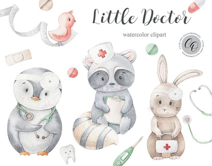 Doctor Clipart Raccoon Clipart Cute Doctors Penguin Clipart Medicine Clipart Stethoscope Png Professions Planner Sticker Printables In 2021 Penguin Clipart Clip Art Etsy Watercolor