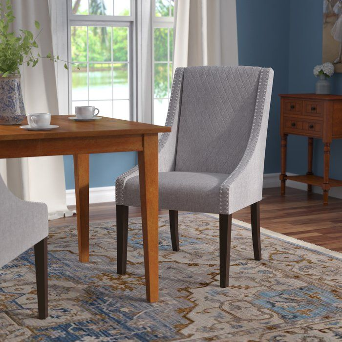 Chalone Upholstered Dining Chair In 2020 Dining Chairs Solid