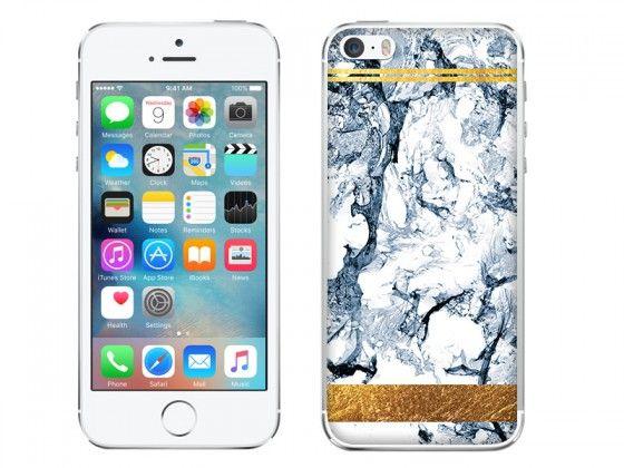 Śliczny marmurkowy case z motywem złotej aplikacji. Tylko na etuo.pl http://www.etuo.pl/etui-na-telefon-marblegold-blekitny-marmur-ze-zlotym-paskiem.html