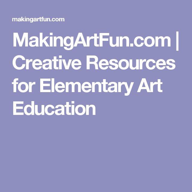 MakingArtFun.com | Creative Resources for Elementary Art Education