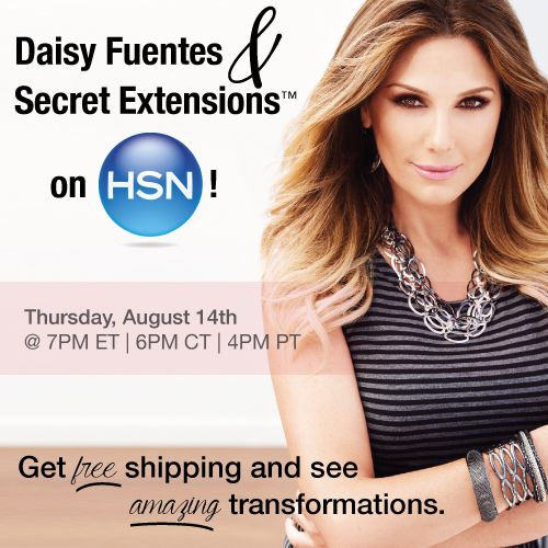 Tune into the Beauty Report with Amy Morrison on HSN THIS Thursday night at 7PM ET/6PM CT/4PM PT! During this hour long segment, Secret Extensions™ will be one of the products featured and customers will receive FREE shipping on their purchase! There's a limited quantity so set a reminder and get your credit card front and center! #secretextensions #myhairsecret #hsn #happyshopping #shopaholic #hairextensions #daisyfuentes #amymorrison
